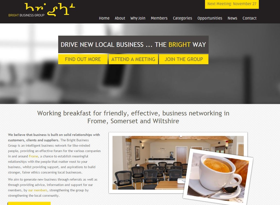 Visit the Bright Business Group website