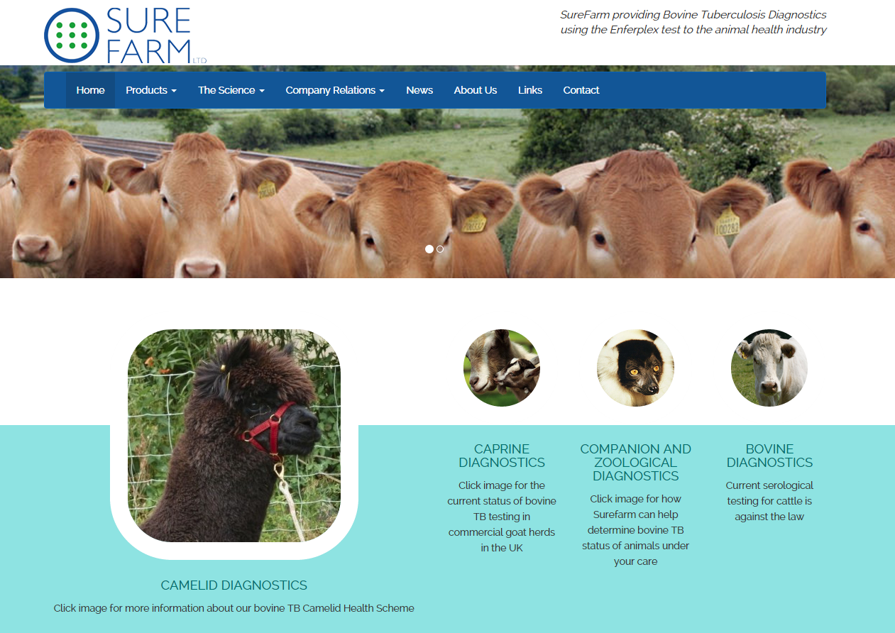 Visit the SureFarm Website