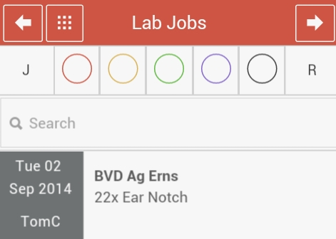 Lab Jobs Application