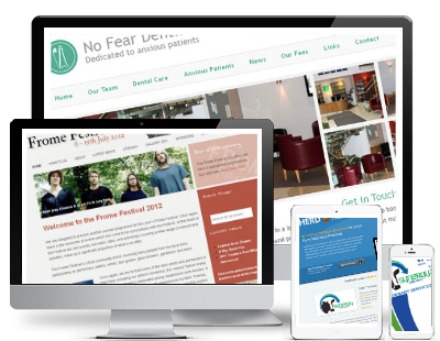 Website Design and Development in Shepton Mallet