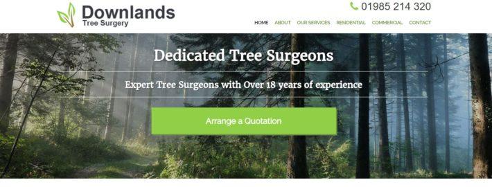 Downlands new website home